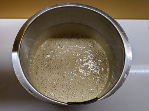 huevo batido molde