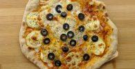 Pizza verduras horneada